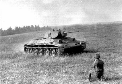 Легендарный танк Т-34